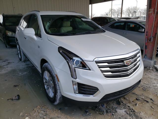 Salvage cars for sale from Copart Homestead, FL: 2017 Cadillac XT5