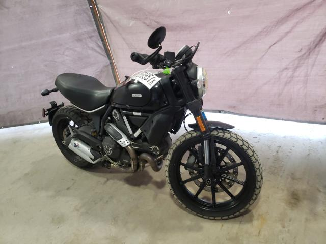 Ducati salvage cars for sale: 2018 Ducati Scrambler