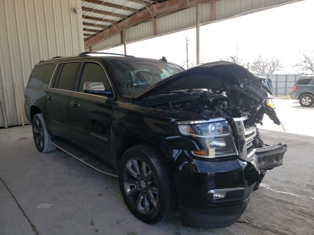 Chevrolet Suburban salvage cars for sale: 2015 Chevrolet Suburban