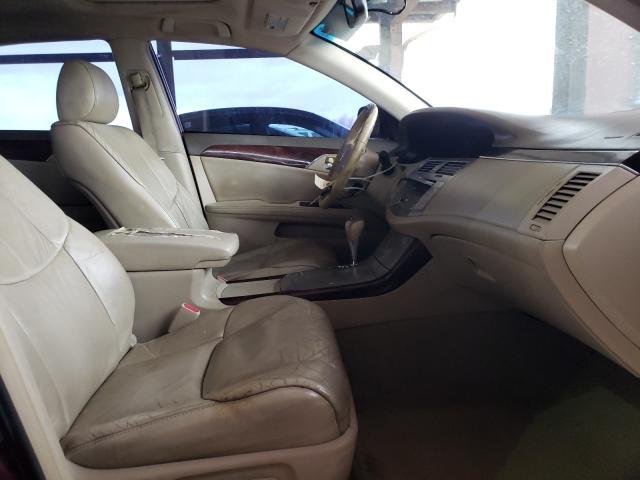 2008 TOYOTA AVALON XL - Left Rear View