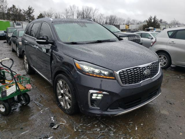 KIA Sorento SX salvage cars for sale: 2019 KIA Sorento SX
