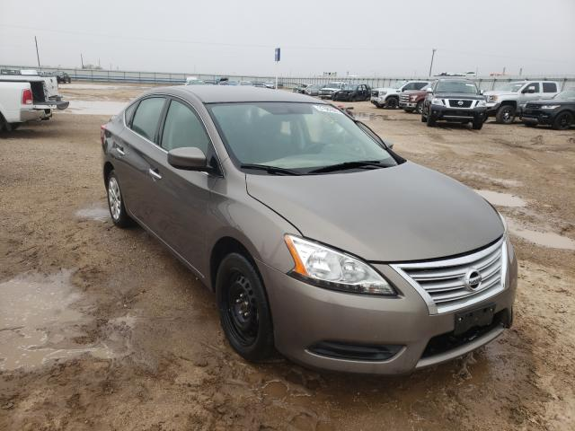 Salvage cars for sale from Copart Amarillo, TX: 2015 Nissan Sentra S