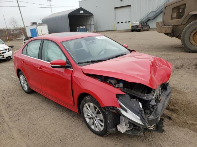 Salvage cars for sale from Copart Montreal Est, QC: 2015 Volkswagen Jetta Base