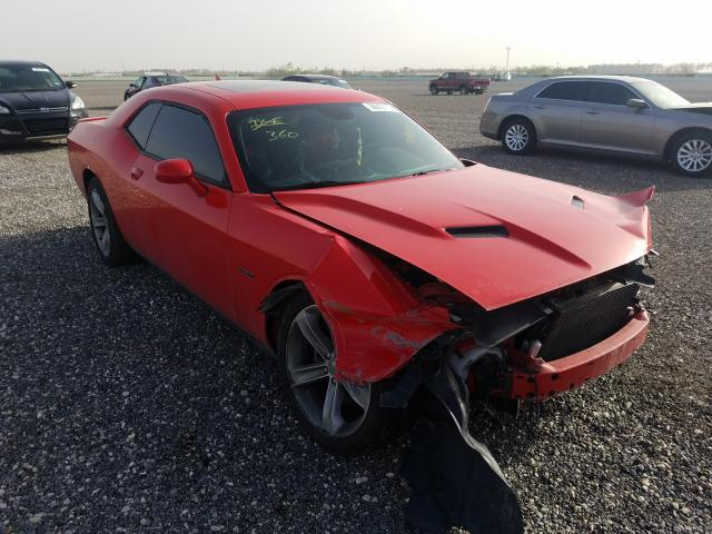 Salvage cars for sale from Copart Houston, TX: 2015 Dodge Challenger