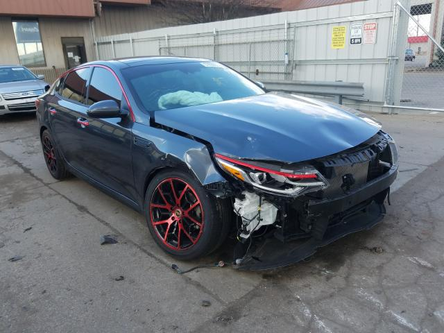 Salvage cars for sale from Copart Fort Wayne, IN: 2019 KIA Optima LX