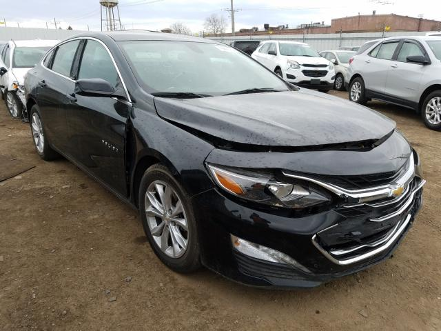Vehiculos salvage en venta de Copart Chicago Heights, IL: 2019 Chevrolet Malibu LT