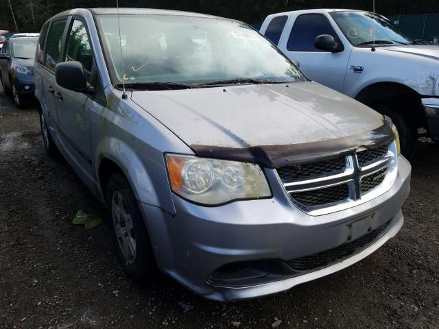 Salvage cars for sale from Copart Graham, WA: 2013 Dodge Grand Caravan