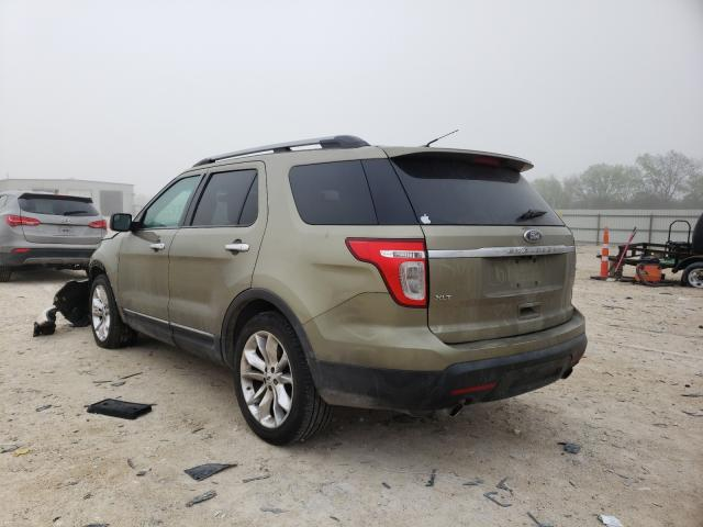 2012 FORD EXPLORER X - Right Front View