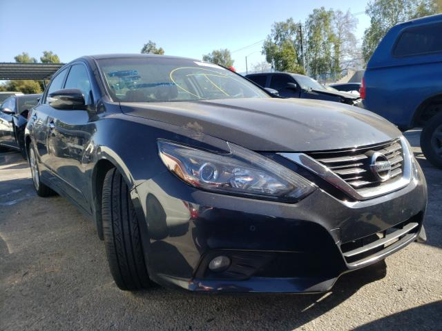 Salvage cars for sale from Copart Adelanto, CA: 2017 Nissan Altima 3.5