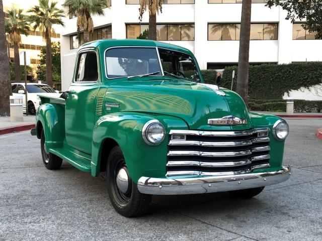 Salvage cars for sale from Copart Sacramento, CA: 1950 Chevrolet 3100