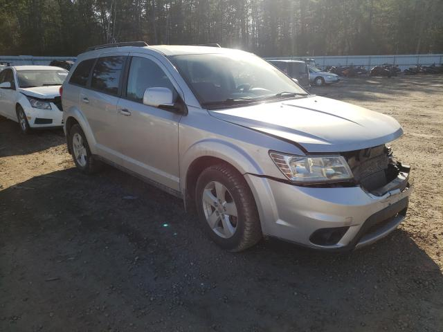 Salvage cars for sale from Copart Lyman, ME: 2012 Dodge Journey SX