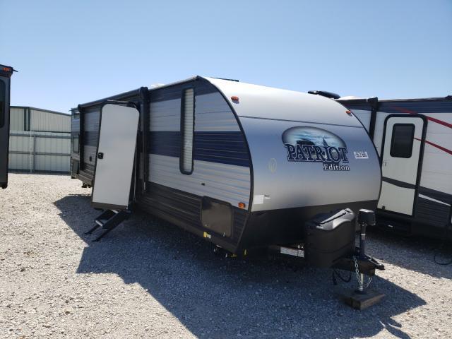 Vehiculos salvage en venta de Copart Haslet, TX: 2021 Forest River Gray Wolf
