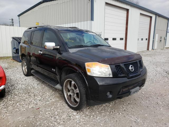 Salvage cars for sale from Copart Rogersville, MO: 2008 Nissan Armada SE