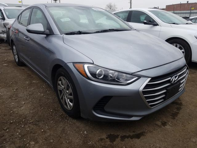 Vehiculos salvage en venta de Copart Chicago Heights, IL: 2017 Hyundai Elantra SE