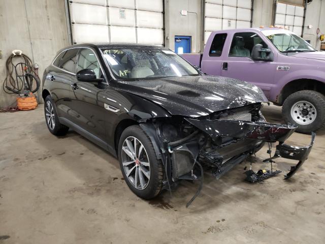 Salvage cars for sale from Copart Blaine, MN: 2017 Jaguar F-PACE Premium