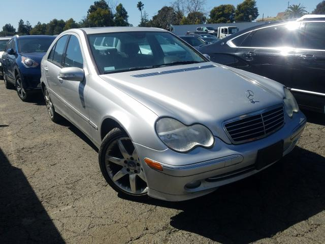 Mercedes-Benz salvage cars for sale: 2004 Mercedes-Benz C