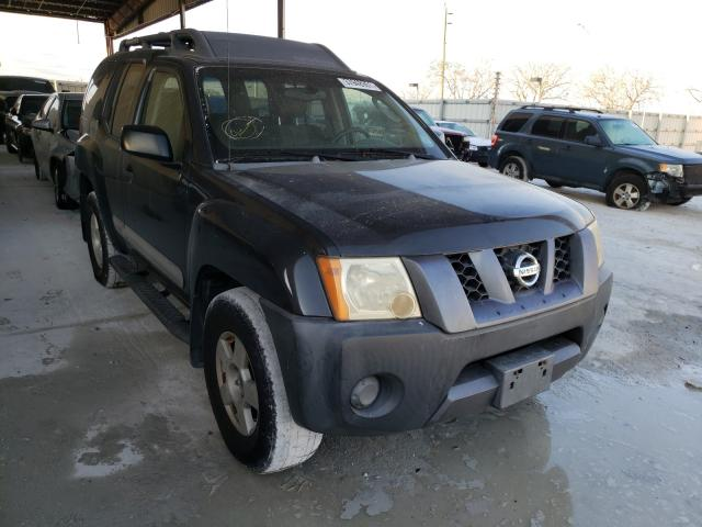 Salvage cars for sale from Copart Homestead, FL: 2005 Nissan Xterra OFF