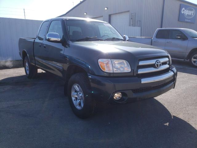 Salvage cars for sale from Copart Central Square, NY: 2005 Toyota Tundra ACC