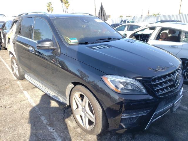 Vehiculos salvage en venta de Copart Van Nuys, CA: 2015 Mercedes-Benz ML 400 4matic