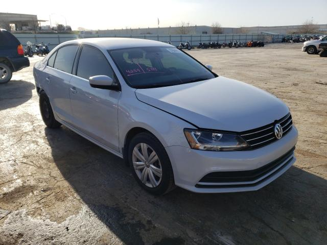 Salvage cars for sale from Copart Tulsa, OK: 2017 Volkswagen Jetta S