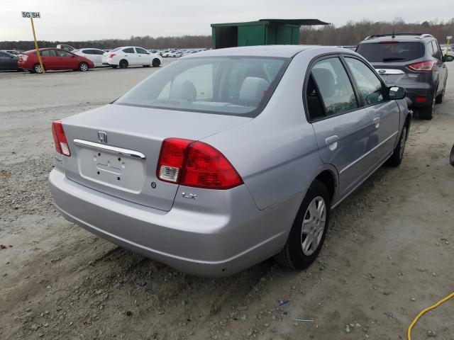 2003 HONDA CIVIC LX - Right Rear View