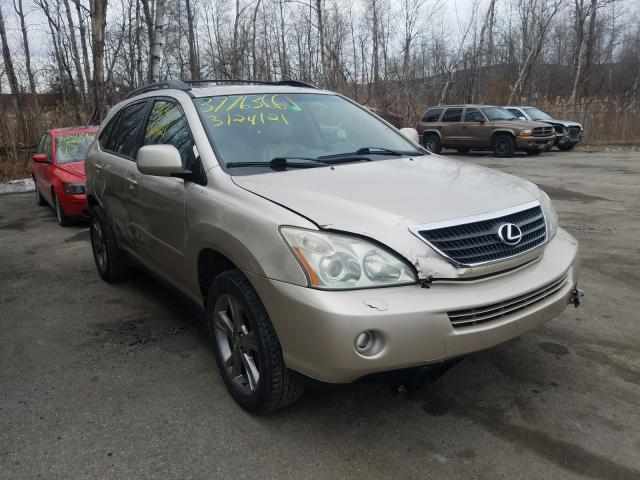 Salvage cars for sale from Copart West Warren, MA: 2006 Lexus RX 400