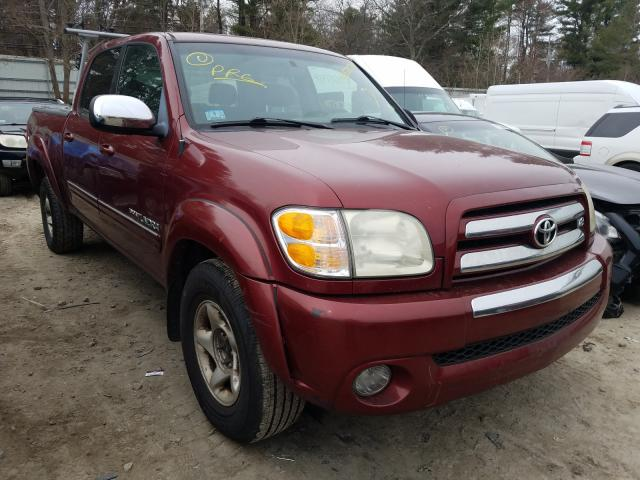 Salvage cars for sale from Copart Mendon, MA: 2004 Toyota Tundra DOU