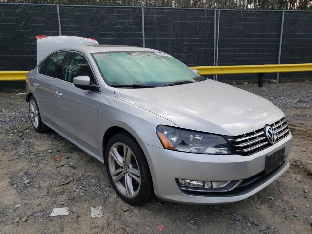 Salvage cars for sale from Copart Waldorf, MD: 2014 Volkswagen Passat SE