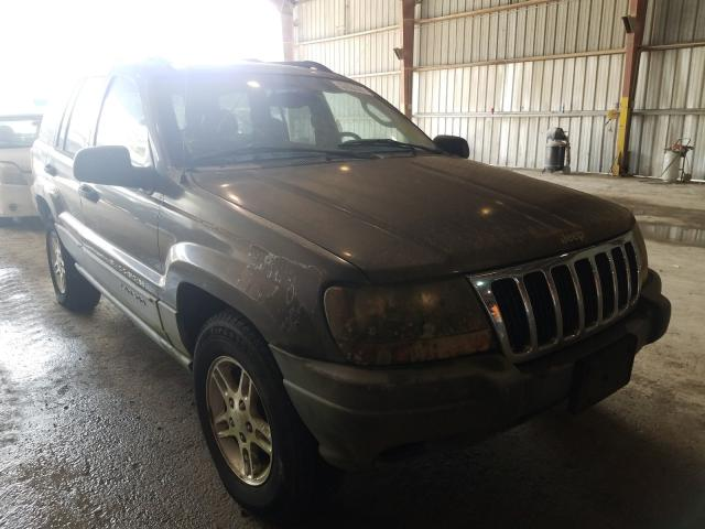 Salvage cars for sale from Copart Greenwell Springs, LA: 2002 Jeep Grand Cherokee