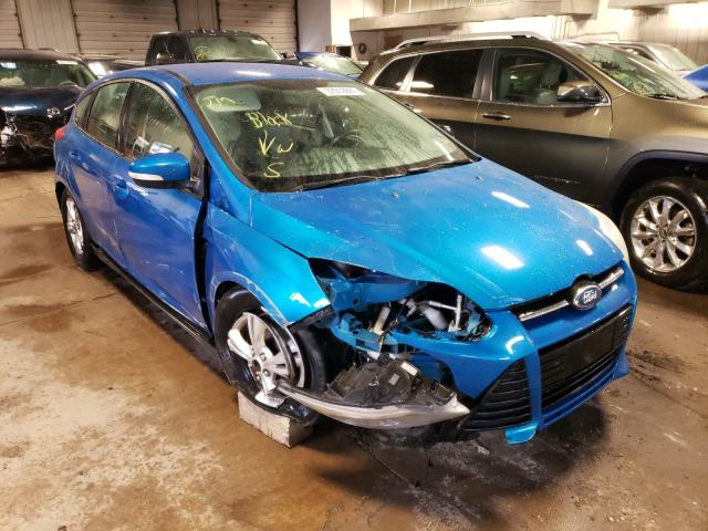 Salvage cars for sale from Copart Cudahy, WI: 2012 Ford Focus SE