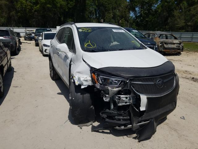 Salvage cars for sale from Copart Ocala, FL: 2017 Buick Encore PRE