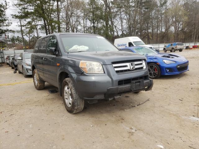Vehiculos salvage en venta de Copart Austell, GA: 2006 Honda Pilot LX
