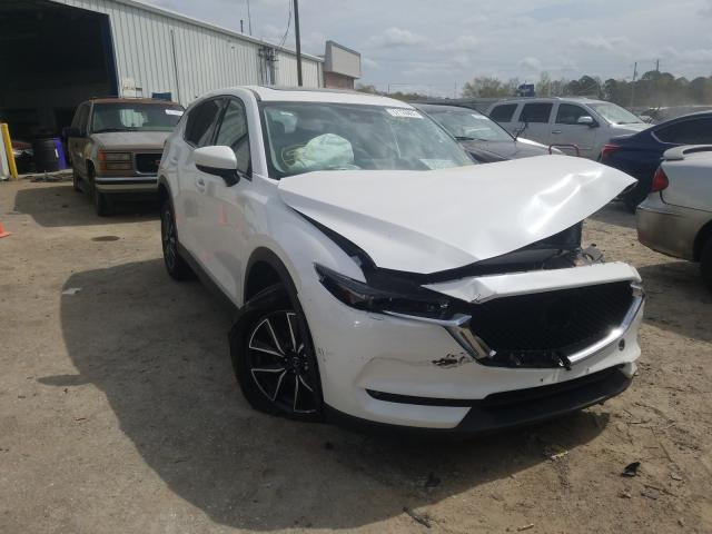 Mazda salvage cars for sale: 2017 Mazda CX-5 Grand Touring