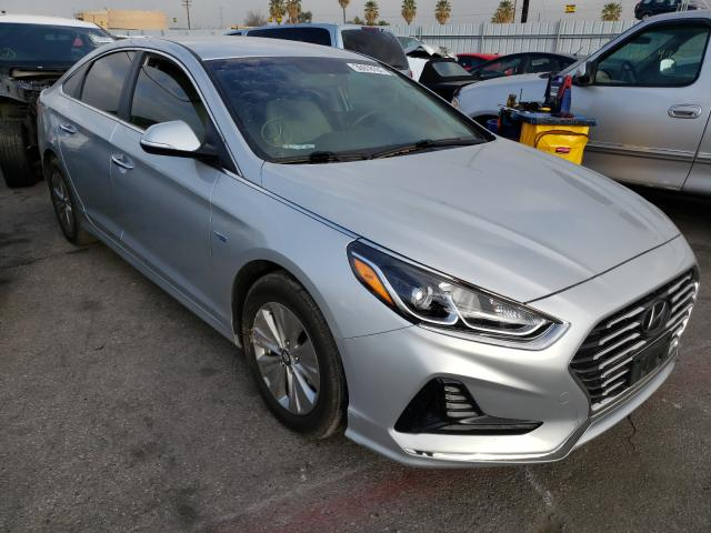 Salvage cars for sale from Copart Colton, CA: 2018 Hyundai Sonata Hybrid
