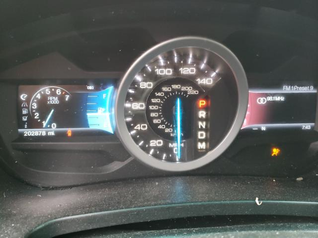 2012 FORD EXPLORER X - Engine View