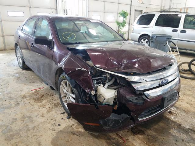 Salvage cars for sale from Copart Columbia, MO: 2012 Ford Fusion S