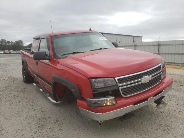 Salvage trucks for sale at Lumberton, NC auction: 2006 Chevrolet Silverado