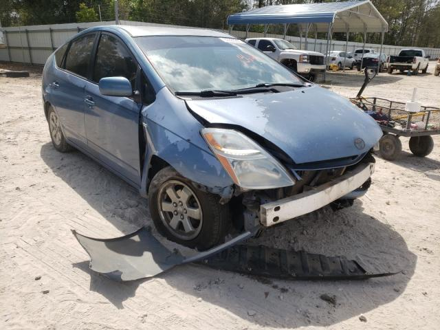 Salvage cars for sale from Copart Midway, FL: 2007 Toyota Prius
