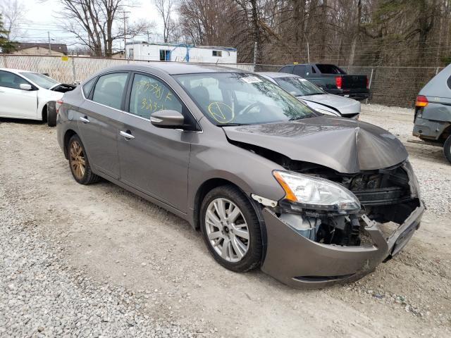 Vehiculos salvage en venta de Copart Northfield, OH: 2015 Nissan Sentra S