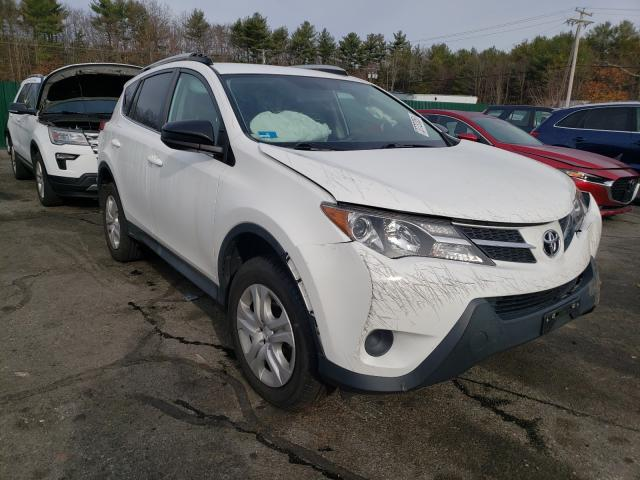 Salvage cars for sale from Copart Exeter, RI: 2015 Toyota Rav4 LE