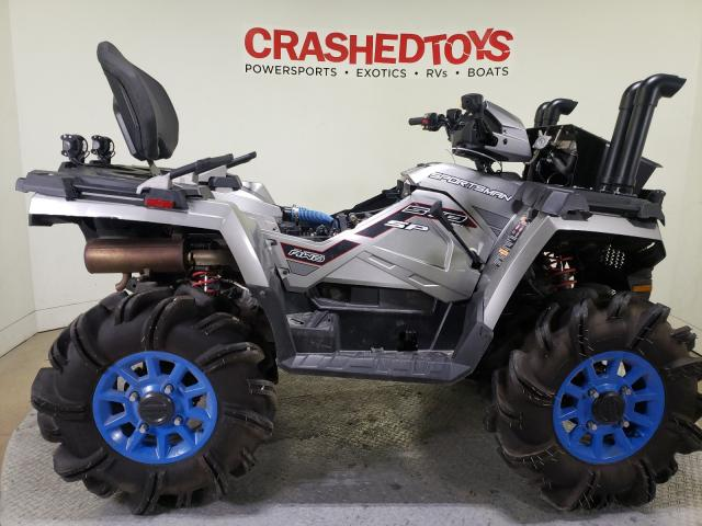 Salvage cars for sale from Copart Dallas, TX: 2019 Polaris Sportsman