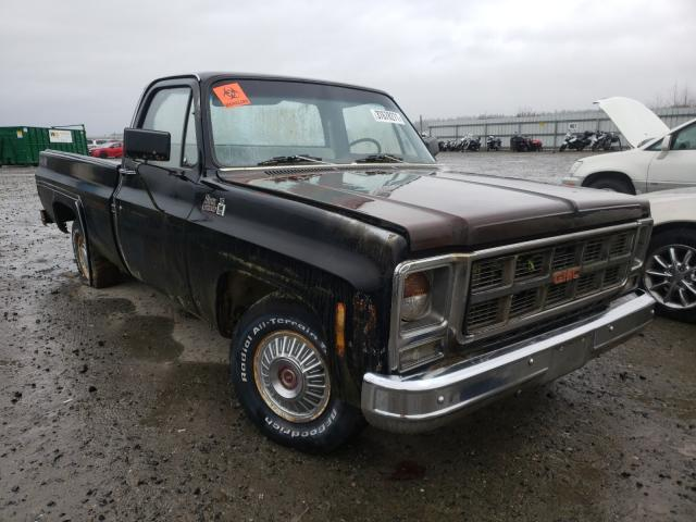 Salvage cars for sale from Copart Arlington, WA: 1979 GMC Sierra GRA