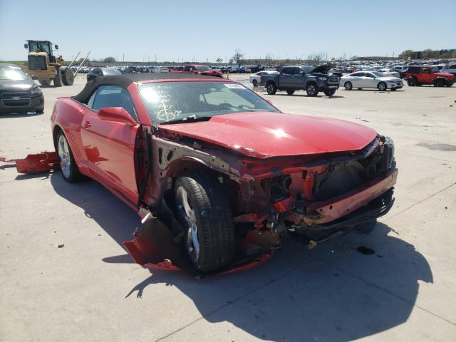 Salvage cars for sale from Copart Grand Prairie, TX: 2015 Chevrolet Camaro LT