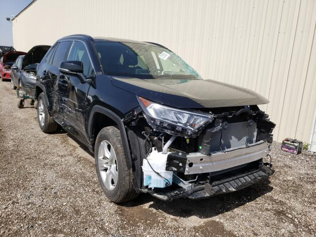 Salvage cars for sale from Copart Houston, TX: 2020 Toyota Rav4 XLE