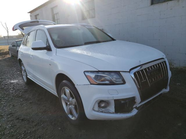 Salvage cars for sale from Copart Hillsborough, NJ: 2011 Audi Q5 Prestige