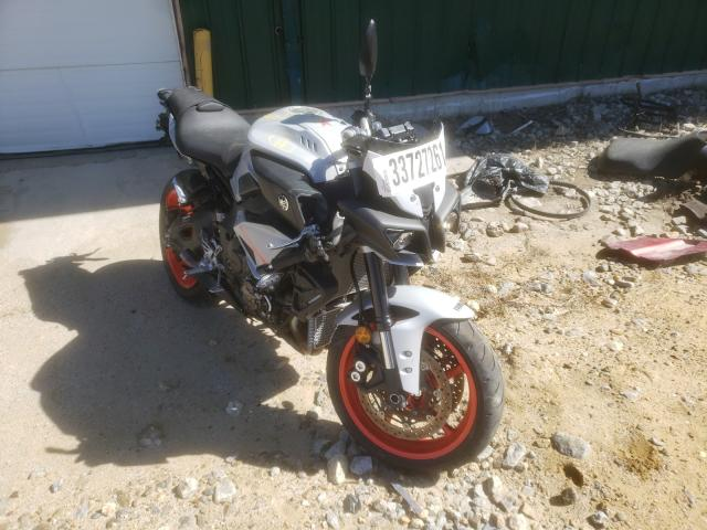 Salvage cars for sale from Copart Candia, NH: 2019 Yamaha MT10