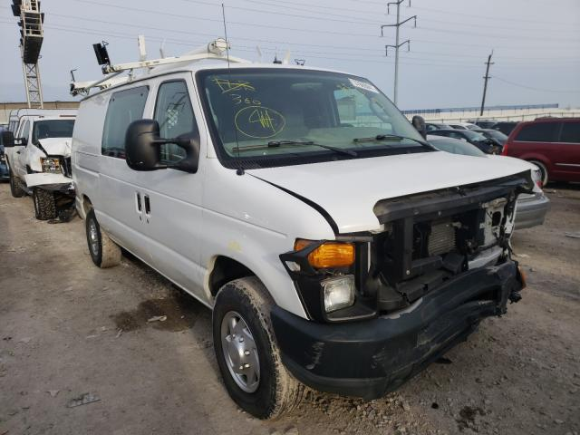Salvage cars for sale from Copart Columbus, OH: 2010 Ford Econoline