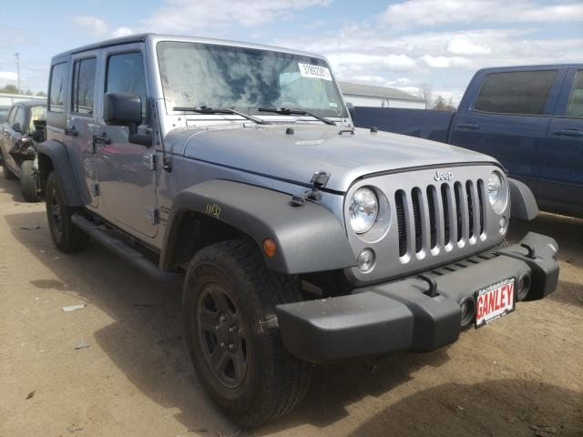 Salvage cars for sale from Copart Columbia Station, OH: 2017 Jeep Wrangler U