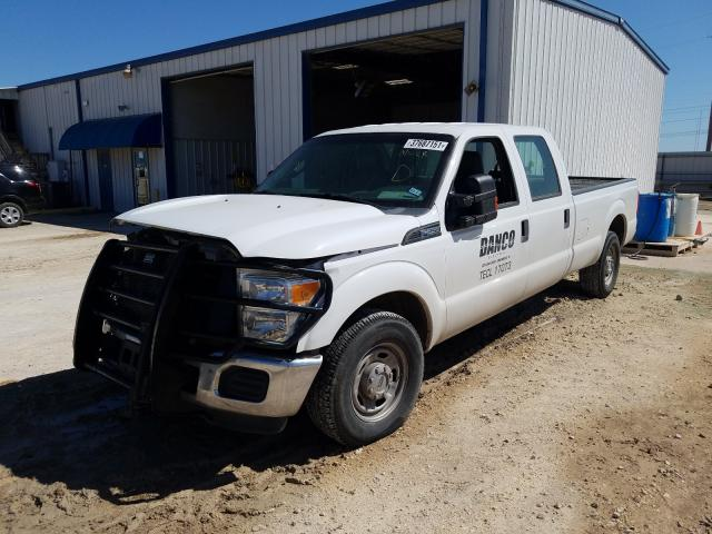 2015 FORD F250 SUPER - Left Front View