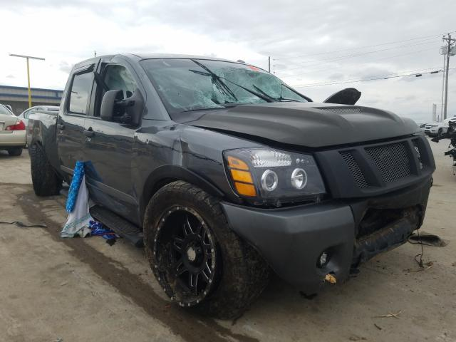 Nissan salvage cars for sale: 2015 Nissan Titan S